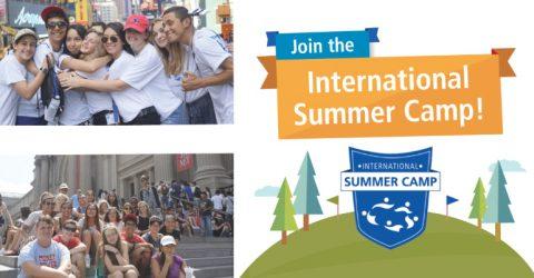 WYA's International Summer Camp 2017 in New Hampshire, USA
