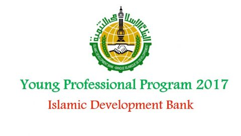 Young Professional Program 2017 at Islamic Development Bank