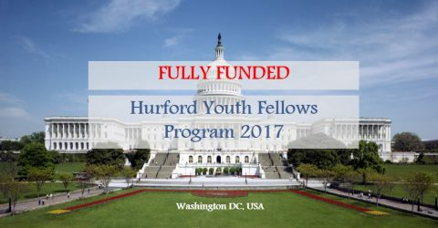 Call for Applications: Hurford Youth Fellows Program 2017 in Washington, DC