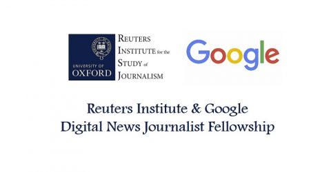 Call For Applications for New Google Digital News Journalist Fellowship