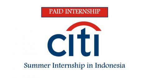 Summer Internship (Consumer Banking) at Citi in Indonesia