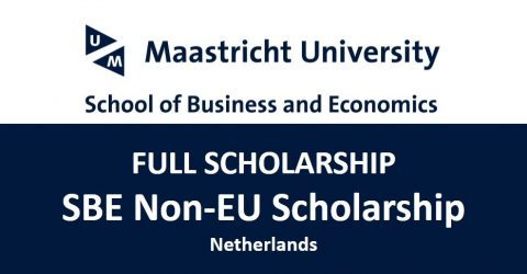 SBE Non-EU Scholarship 2017 in Netherlands