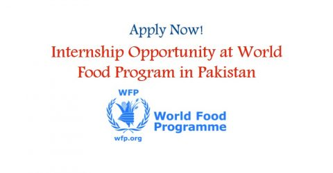 Internship Opportunity (Communications) at World Food Program in Pakistan