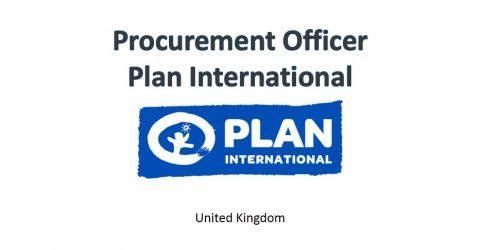 Procurement Officer at Plan International in UK