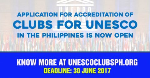 Accreditation of Clubs for UNESCO in the Philippines 2017