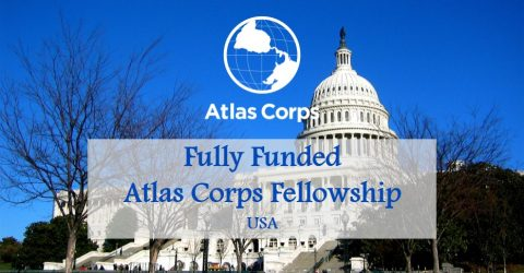 Fully Funded: Atlas Corps Fellowship in USA
