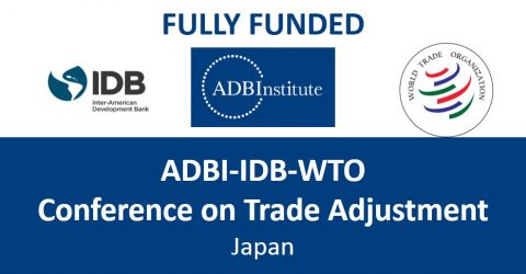 Call for Paper: ADBI-IDB-WTO Conference on Trade Adjustment in Japan