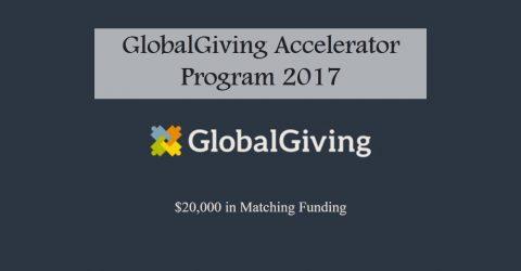 GlobalGiving Accelerator Program 2017