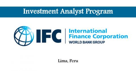 Investment Analyst Program at IFC in Lima, Peru
