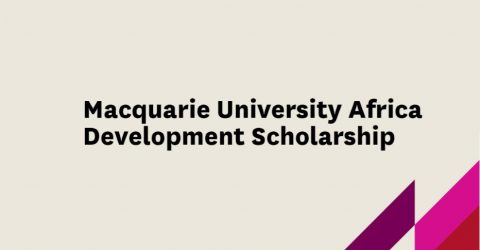 Macquarie University Africa Development Scholarship in Australia, 2017