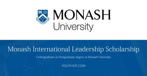 Monash International Leadership Scholarships 2017 in Australia