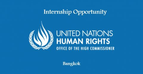 Internship Opportunity at the Office of the High Commissioner for Human Rights Bangkok