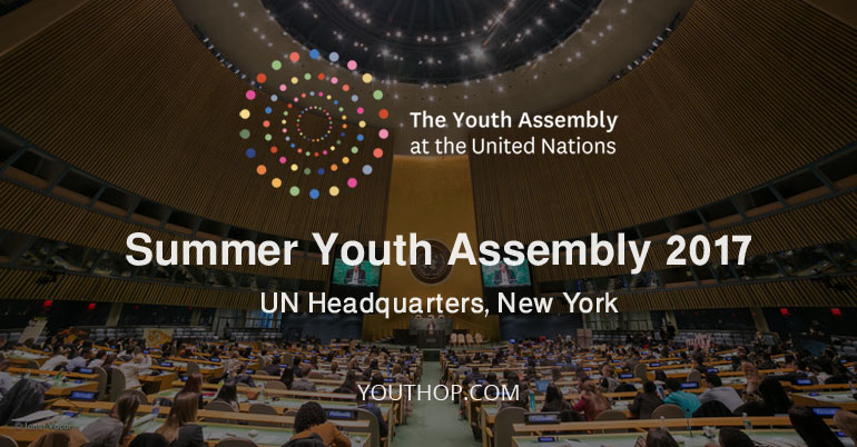summer youth assembly 2017 at un headquarters new york. Black Bedroom Furniture Sets. Home Design Ideas