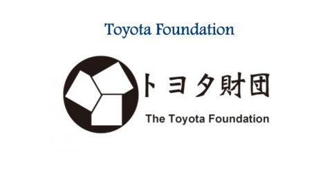 Toyota Foundation International Grant Program 2017