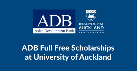 The ADB-Japan Scholarship at University of Auckland