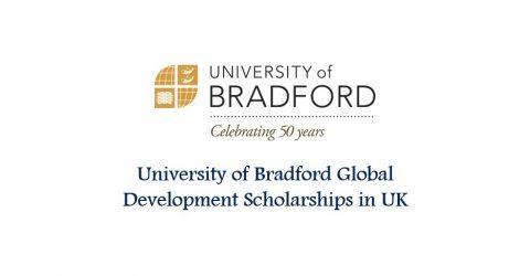 University of Bradford Global Development Scholarships in UK