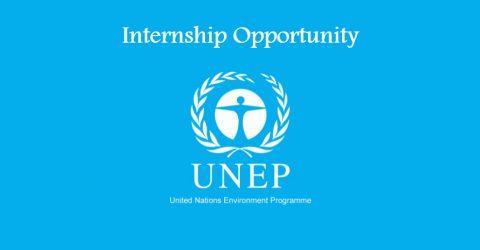 Internship Opportunity at UNEP in Geneva