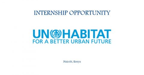 Internship at United Nations Human Settlements Programme (UN-HABITAT), Nairobi