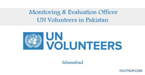 Monitoring & Evaluation Officer at UN Volunteers in Pakistan