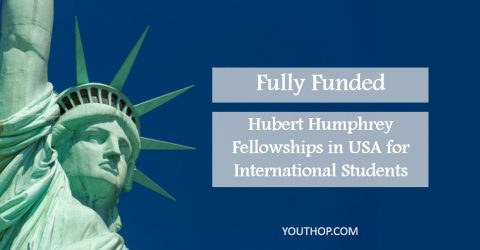 Fully Funded: Hubert Humphrey Fellowships in USA for International Students