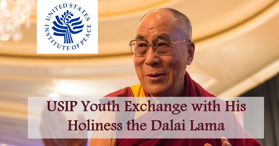Youth Leaders' Exchange with His Holiness the Dalai Lama 2020