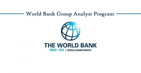 World Bank Group Analyst Program 2017