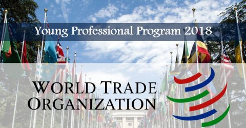 WTO Young Professionals Program 2018