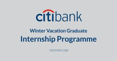 Citi Group Winter Vacation Internship Programme 2017 for South Africans