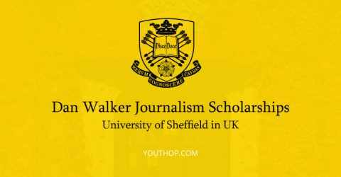 Dan Walker Journalism Scholarships 2017 at University of Sheffield in UK