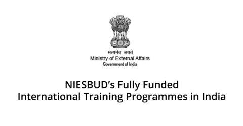 International Training Programmes 2017 in India