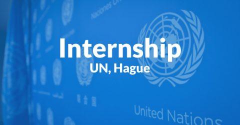 Internship Opportunity at International Criminal Tribunal for the former Yugoslavia, UN, Hague