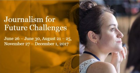 Journalism for Future Challenges 2017 in Riga, Latvia