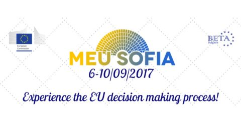 Model European Union Sofia 2017 in California, USA