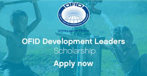 OFID Development Leaders Scholarship 2017