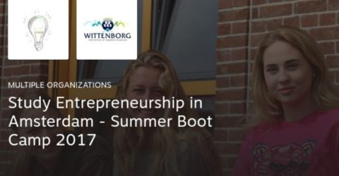 Study Entrepreneurship in Amsterdam – Summer Boot Camp 2017