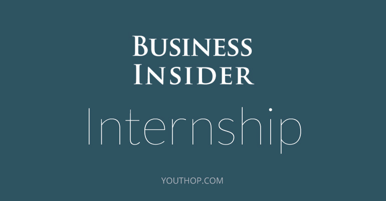 Business Insider internship paid
