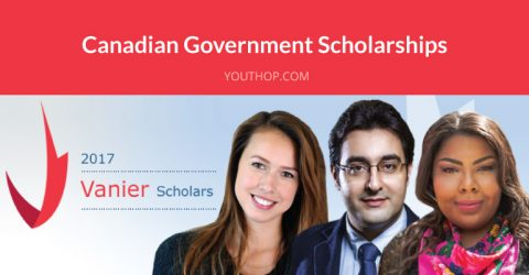 Canadian Government Scholarships 2018