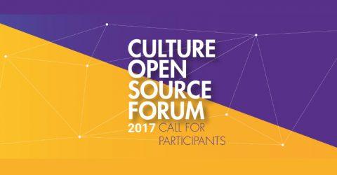 Culture Open Source Forum 2017 Berlin, Germany