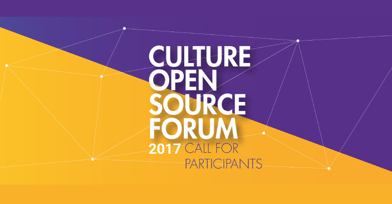 Culture Open Source Forum 2017 Berlin, Germany - Youth