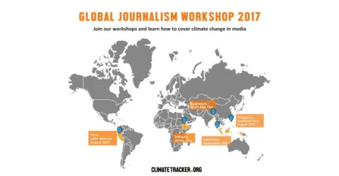 Global Journalism and Climate Change Workshop 2017