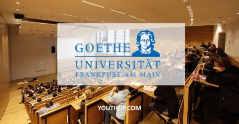 Goethe University Master Scholarships in Germany for 2017/18