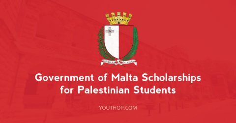 Government of Malta Scholarships for Palestinian Students 2017
