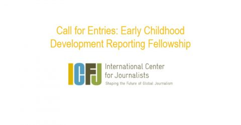 Call for Entries: Early Childhood Development Reporting Fellowship