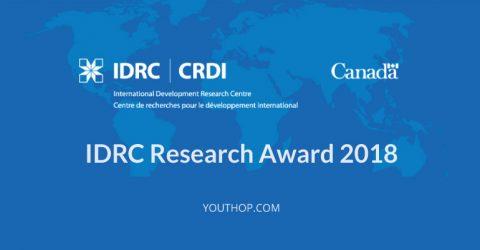 IDRC Research Award 2018 in Canada
