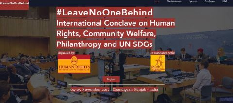 International Conclave on Human Rights, Community Welfare, Philanthropy and UN SDG's