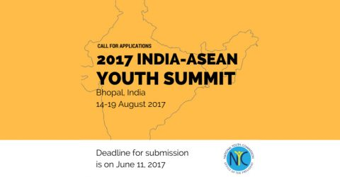 Call for Applications: India-ASEAN Youth Summit 2017 in India