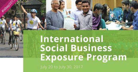 International Social Business Exposure Program – (ISBEP) 2017 in Bangladesh