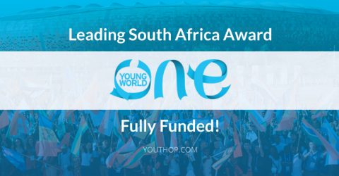 Leading South Africa Award for One Young World Summit 2017 in Bogotá