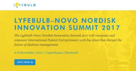 Lyfebulb–Novo Nordisk  Innovation Summit 2017 in Denmark