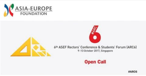 The 6th ASEF Rectors' Conference and Students' Forum (ARC6) in Singapore